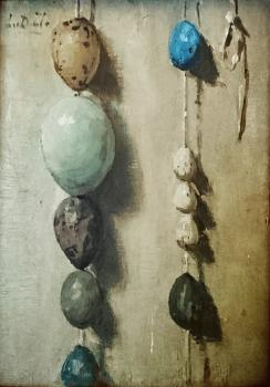 Eiersnoer (1912) door Lucie van Dam van Isselt