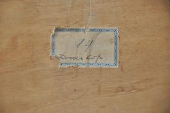 Doodskop achterzijde (ca. 1925) door Lucie van Dam van Isselt