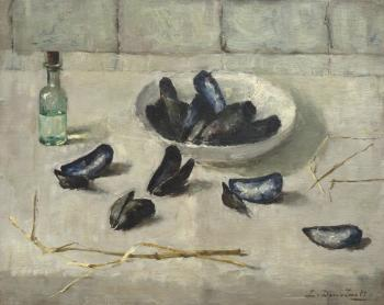 Mosselen door Lucie van Dam van Isselt
