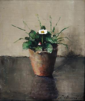 Meizoentje (ca. 1918) door Lucie van Dam van Isselt