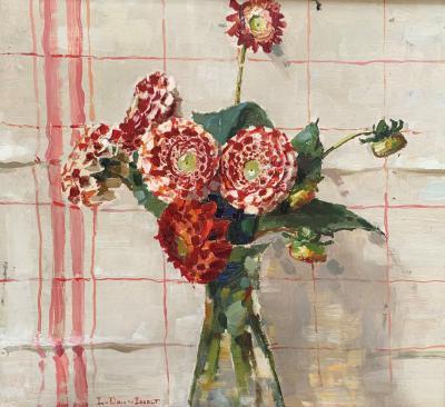 Dahlia's (1918-1919) door Lucie van Dam van Isselt