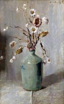 Immortellen (ca. 1920) door Lucie van Dam van Isselt