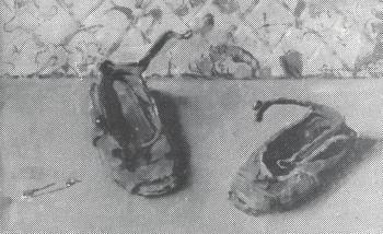 De eerste schoentjes (ca. 1920) door Lucie van Dam van Isselt