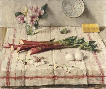 Voorjaar (1948-1949) door Lucie van Dam van Isselt
