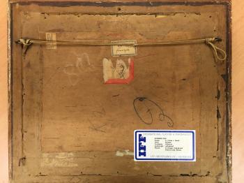 Fleschjees achterzijde door Lucie van Dam van Isselt