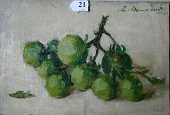 Druiven door Lucie van Dam van Isselt