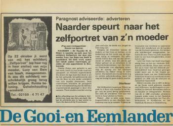 Bericht in de Gooi- en Eemlander
