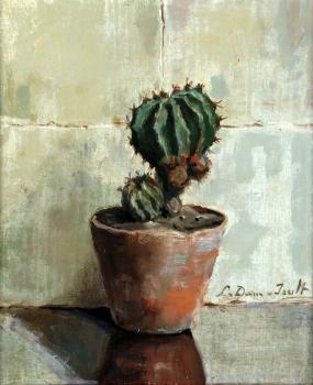 Cactus door Lucie van Dam van Isselt