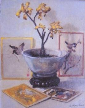 Orchidee door Lucie van Dam van Isselt