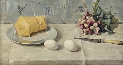Radijs, boter en eieren (1946) door Lucie van Dam van Isselt