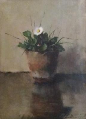 Meizoentje (ca. 1930) door Lucie van Dam van Isselt