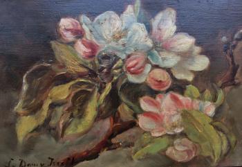 Voorjaarsbloesem door Lucie van Dam van Isselt