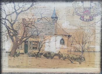 Isselt in Eemland (ca. 1897) door Lucie van Dam van Isselt