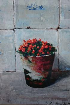 Koraalmosje door Lucie van Dam van Isselt