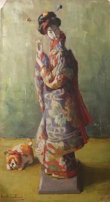 Japans poppetje (1912) door Lucie van Dam van Isselt