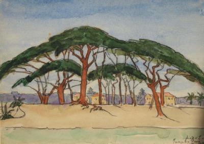 Juan les Pins (1939) door Lucie van Dam van Isselt