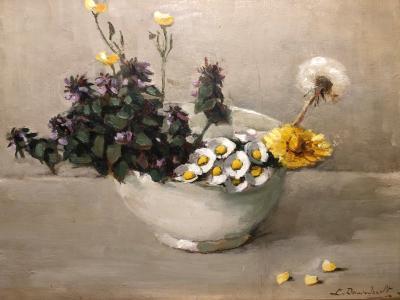 Onkruid (ca. 1935) door Lucie van Dam van Isselt