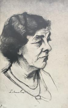 Mevrouw Harte door Lucie van Dam van Isselt