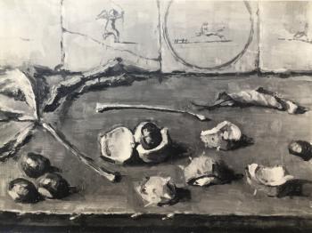 Kastanjes door Lucie van Dam van Isselt