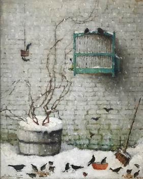 Winter 1947 door Lucie van Dam van Isselt