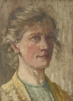 Zelfportret (ca. 1907) Lucie van Dam van Isselt