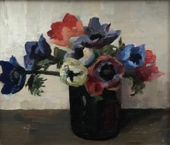 Anemonen (1915-1920) door Lucie van Dam van Isselt