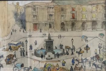 Burgos door Lucie van Dam van Isselt