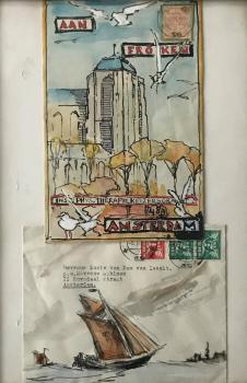 Aan Fröken (1918) door Lucie van Dam van Isselt