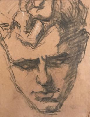 Schets van Evert (1920) door Lucie van Dam van Isselt