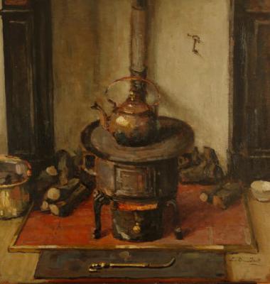 Winter 1941 (1941) door Lucie van Dam van Isselt