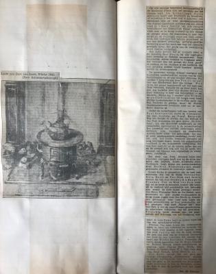 Winter 1941 krantenknipsel