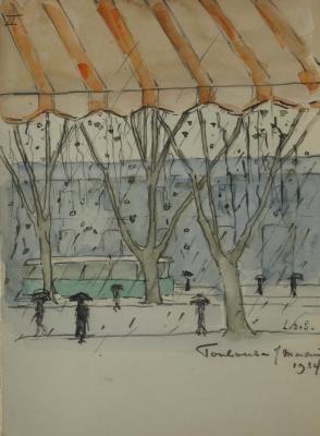 Toulouse (1934) door Lucie van Dam van Isselt
