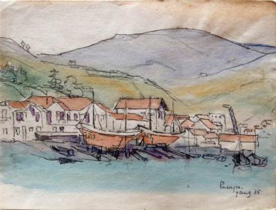 Pasajes (1935) door Lucie van Dam van Isselt