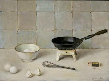 De omelet (ca. 1935) door Lucie van Dam van Isselt
