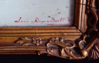 Pomon dahlia's signature en datering