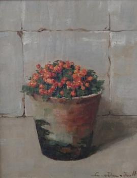 Koraalmosje (ca. 1920) door Lucie van Dam van Isselt