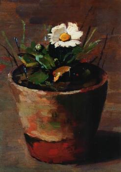 Meizoentje (1919) door Lucie van Dam van Isselt