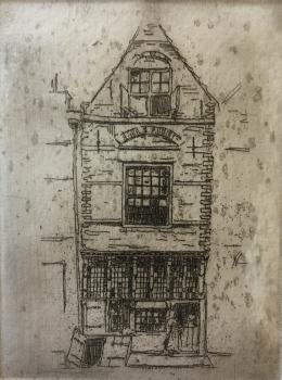 Huis (1908-1910) door Lucie van Dam van Isselt
