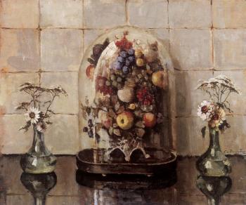 Stolp met vruchten (1920-1925) door Lucie van Dam van Isselt
